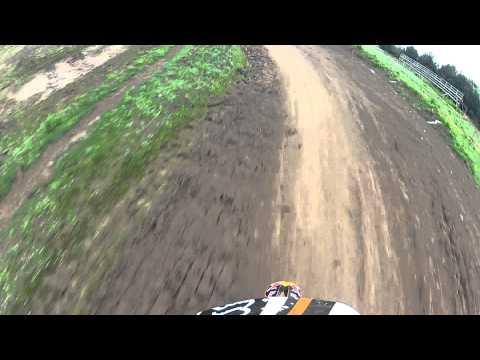 Entrenando Motocross