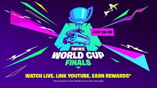 Link your Account and Tune in for the Fortnite World Cup!