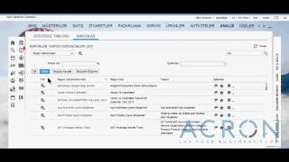 ACRON SAP Cloud for Customer C4C - Analiz