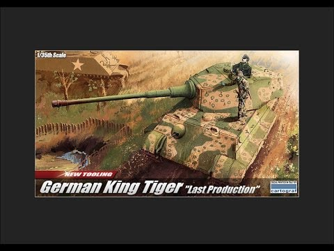 Academy 1/35 King Tiger