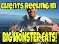 Catching Blue Catfish on Lake Tawakoni