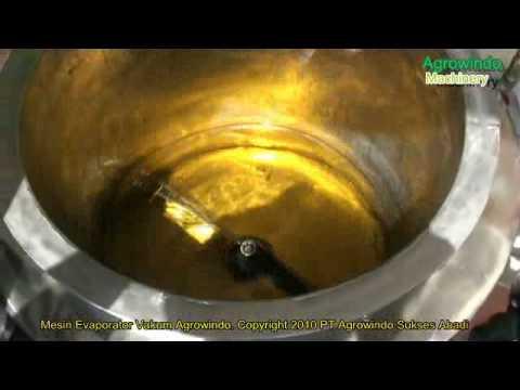 Cara Mengurangi Kadar Air Produk Cair dengan Evaporator Vakum