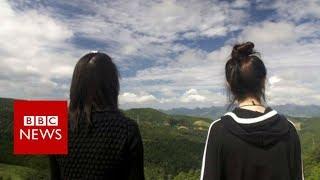 The North Korean women who had to escape twice - BBC News