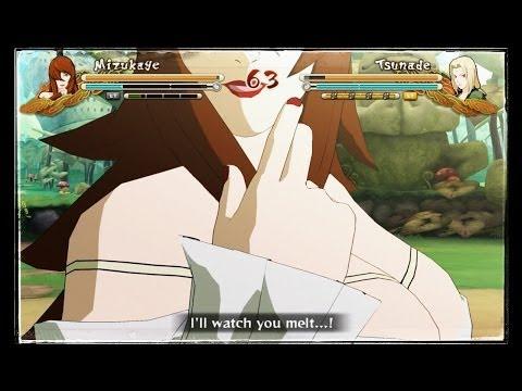 Sexy Mei VS Sexy Tsunade:Naruto Shippuden Full Burst
