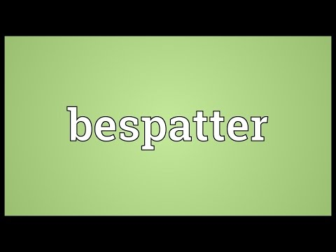 Header of bespatter