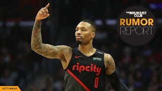 Damian Lillard Fires Back At Shaquille O'Neal With BARS