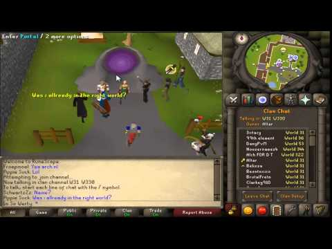 Runescape 2007 How to Find gilded altars(trix and tips)