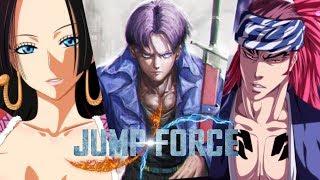 Jump Force - Future Trunks, Boa Hancock & Renji Abarai joins the Roster! Vjump Leaks!