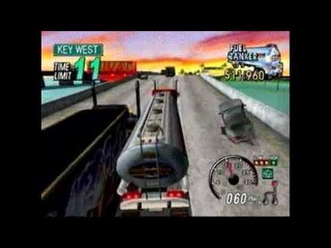 18 Wheeler: American Pro Trucker  PS2 gameplay