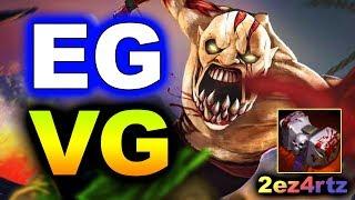 EG vs VG - INCREDIBLE RTZ 1v5 RAMPAGE! - TI9 INTERNATIONAL 2019 DOTA 2