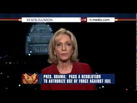 """Andrea Mitchell: Obama's Foreign Policy SOTU Claims """"Not Close To Reality"""""""