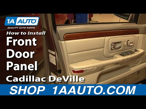 How To Install Replace Front Door Panel Cadillac DeVille 97-99 1AAuto.com