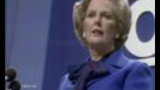 Margaret Thatcher 'the Lady's not for turning'
