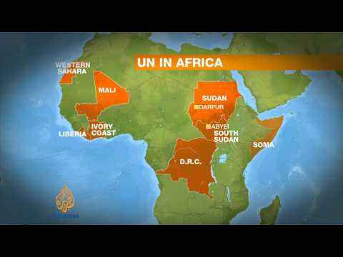 Record number of UN peacekeepers in Africa