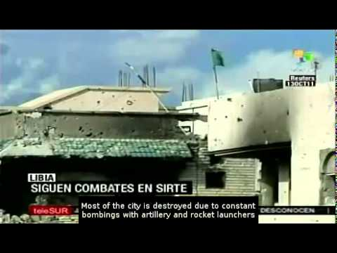 Images of Destruction in Sirte, Libya by Telesur (October 13, 2011)