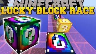Minecraft: INSANE EXPLOSIVE LUCKY BLOCK RACE - Lucky Block Mod - Modded Mini-Game