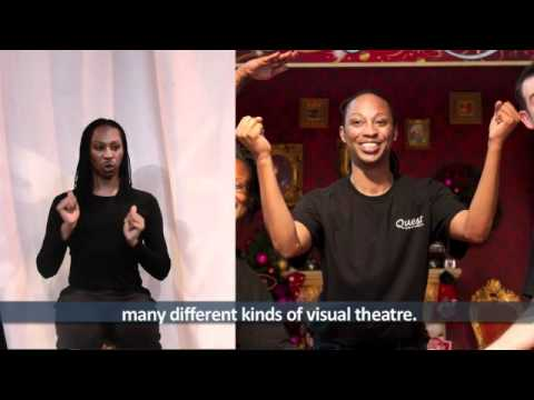 Quest Visual Theatre: One Word, One Moment (Mervin)