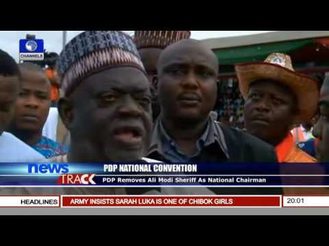 PDP Removes Ali Modu Sheriff As National Chairman