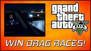 GTA 5 Online | Win Drag Races! Fastest Acceleration Tutorial