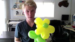 How To Balloon Twist A Flower
