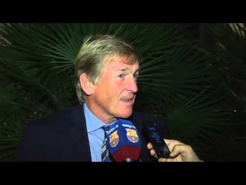 Kenny Dalglish interview about FC Barcelona