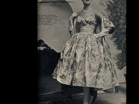The 1950s fashion youtube