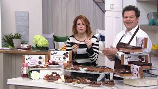 Russell Stover Chocolate Confections Copper 3-Box Gift Set on QVC