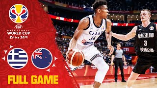 Antetokounmpo pushes Greece past New Zealand! - Full Game - FIBA Basketball World Cup 2019