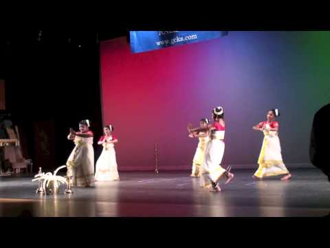 Gcka Onam 2013: Traditional Kerala Group Dance 'ente Keralam (hd) video