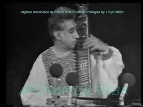 Afghan Music At Shiraz Arts Festival, Tambur & Dilruba Solos video