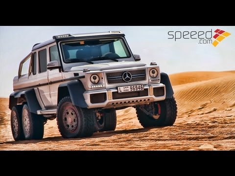 Mercedes G63 AMG 6X6   63   