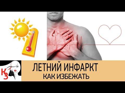 КАК УБЕРЕЧЬ СЕБЯ ОТ ИНФАРКТА ЛЕТОМ. 7 Эффективных советов для защиты сердца в жаркую погоду