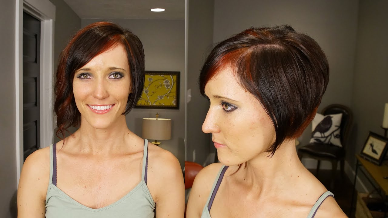 Edgy Custom Red and Brown Color // How to Color Womens ...