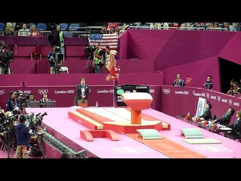 Giulia Steingruber VT2 - 2012 Olympics qual