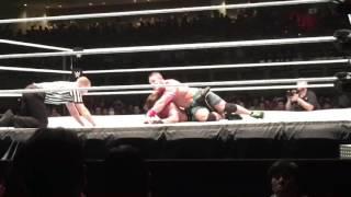 Aj styles vs john cena WWE live japan 07/01/2016