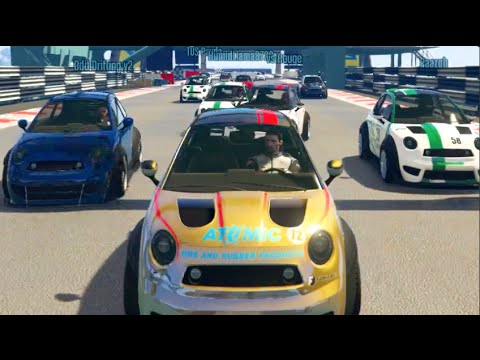 GTA 5 Cunning Stunts UPDATE! 9 Man Online Racing NEW Tracks!!