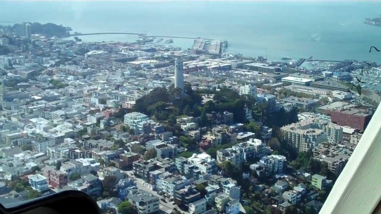 Helicopter Tour Of SF And Marin For Mimi39s Bday  YouTube