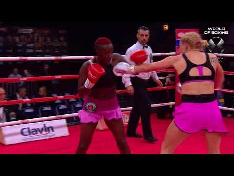 Svetlana Kulakova — Judy Waguthii Highlights | Кулакова – Вагути Хайлайты | Мир бокса