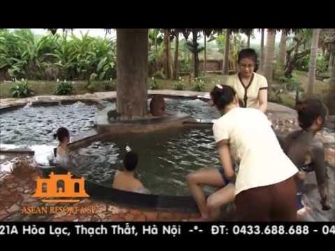 Dịch vụ tắm bùn, bể bơi, bể sục tại Asean Resort & Spa