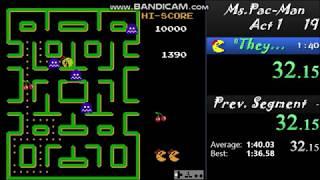 Ms. Pac-Man-Act 1 Speedrun-In 1:34.47