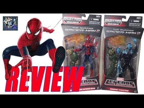 Review Marvel Legends The Amazing Spider Man 2