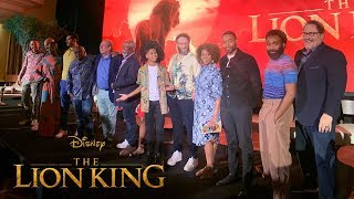 The Lion King Press Conference [HD]