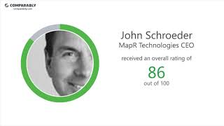 MapR Technologies' CEO and Work Experience - Q1 2019