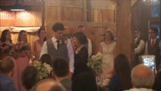 Mother and son dance to Nsync's Bye bye bye