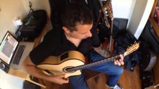 Solo Quiero Caminar - Paco de Lucia - Flamenco Guitar Ben Woods