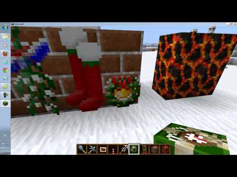 Navidad en Minecraft - Otro Pack de Texturas Navideñas