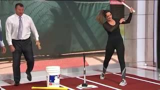 Thome and DeRo Fix Lauren Shehadi's Swing