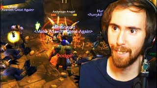 Asmongold World First SHADOWFANG KEEP Clear (WoW Classic Beta)