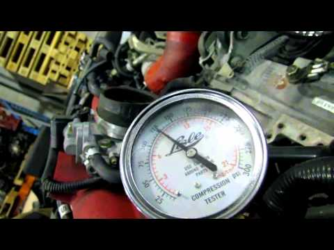 JDM Subaru WRX STI EJ207 V9 Engine video compression test @ JDM Nagoya Auto Part