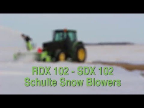 Schulte Snow Blowers